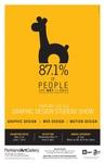 Graphic Design Student Exhibition Poster 2014