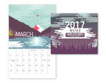 Calendar by Brielle Arnold, Nikolas Atwood, Jason Dockins, and Shannon Martin
