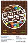 Graphic Design Student Exhibition Poster 2015