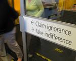 Claim Ignorance Fake Indifference